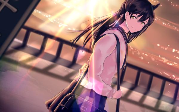 Anime Azur Lane Atago HD Wallpaper | Background Image