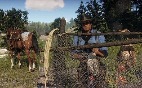 Video Game Red Dead Redemption 2 Red Dead Cowboy Red Dead Redemption Horse Arthur Morgan HD Wallpaper | Background Image