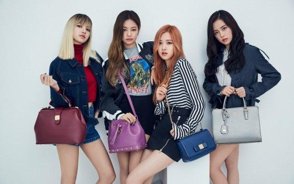 Music BlackPink Jisoo Rosé Lisa Jennie K-Pop HD Wallpaper   Background Image