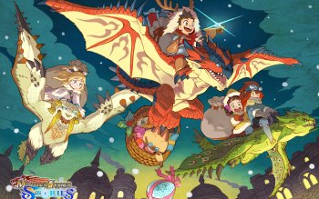 2 4k Ultra Hd Monster Hunter Stories Ride On Wallpapers