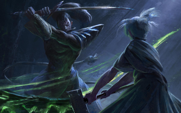 Video Game League Of Legends Yasuo Riven HD Wallpaper | Background Image