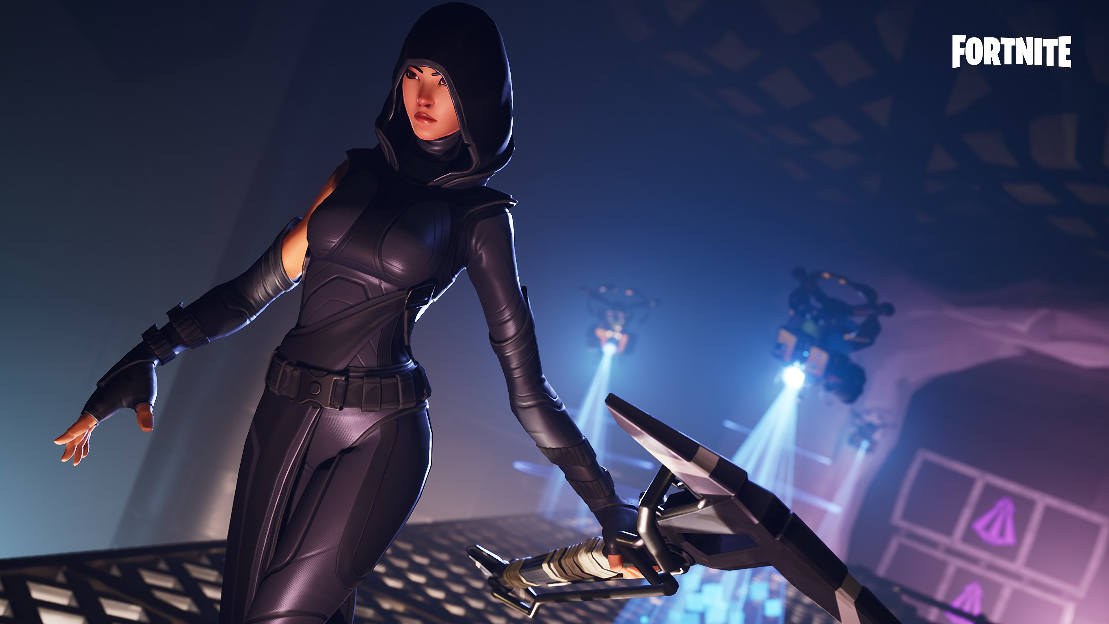 Fate Fortnite Skin 4k Ultra Hd Wallpaper Background Image