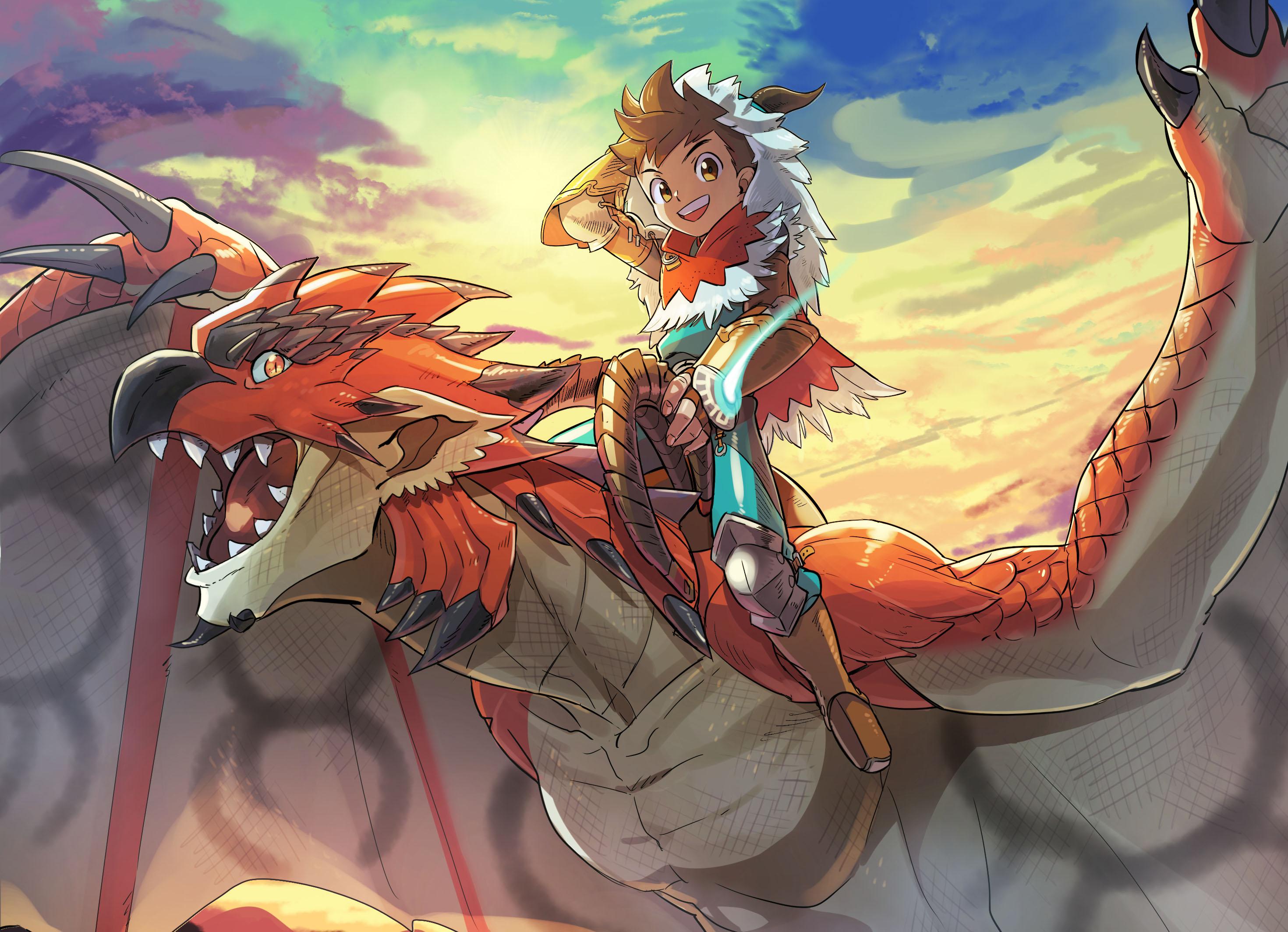 Monster Hunter Stories Ride On Hd Wallpaper Background Image