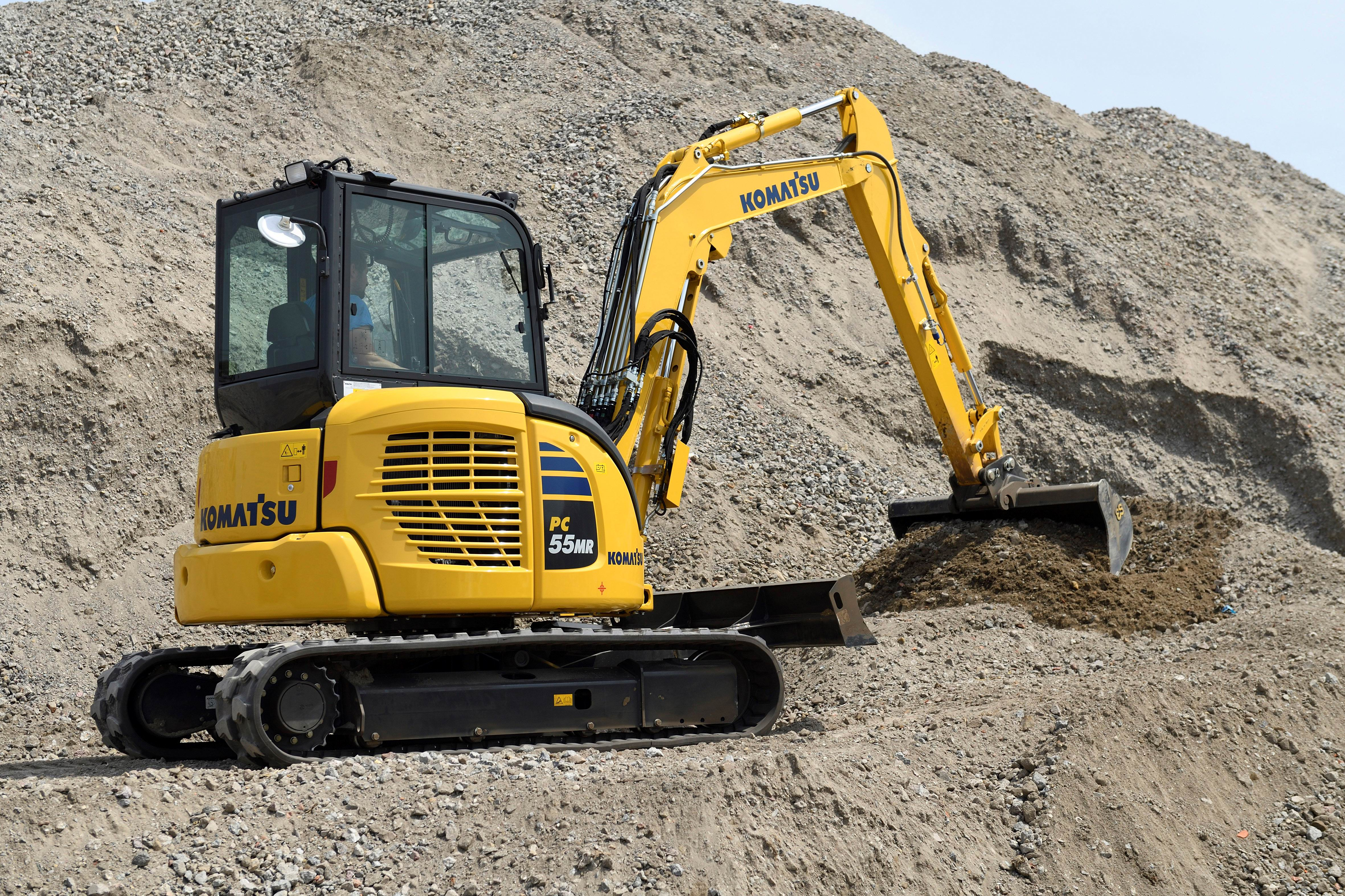 Komatsu PC55MR Excavator
