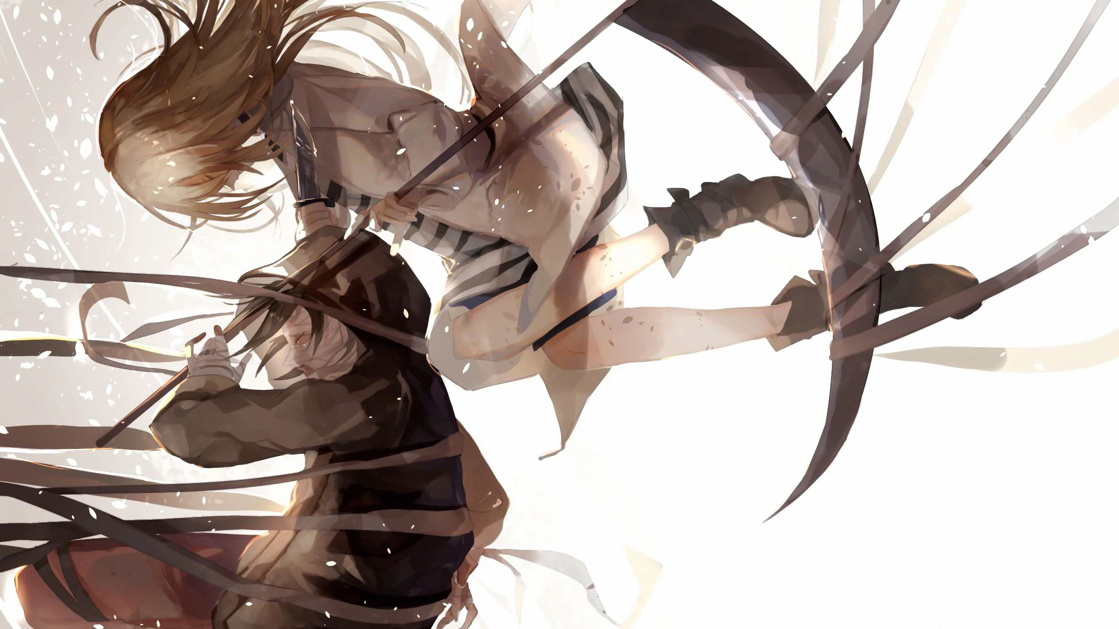 satsuriku no tenshi 4k ultra hd wallpaper