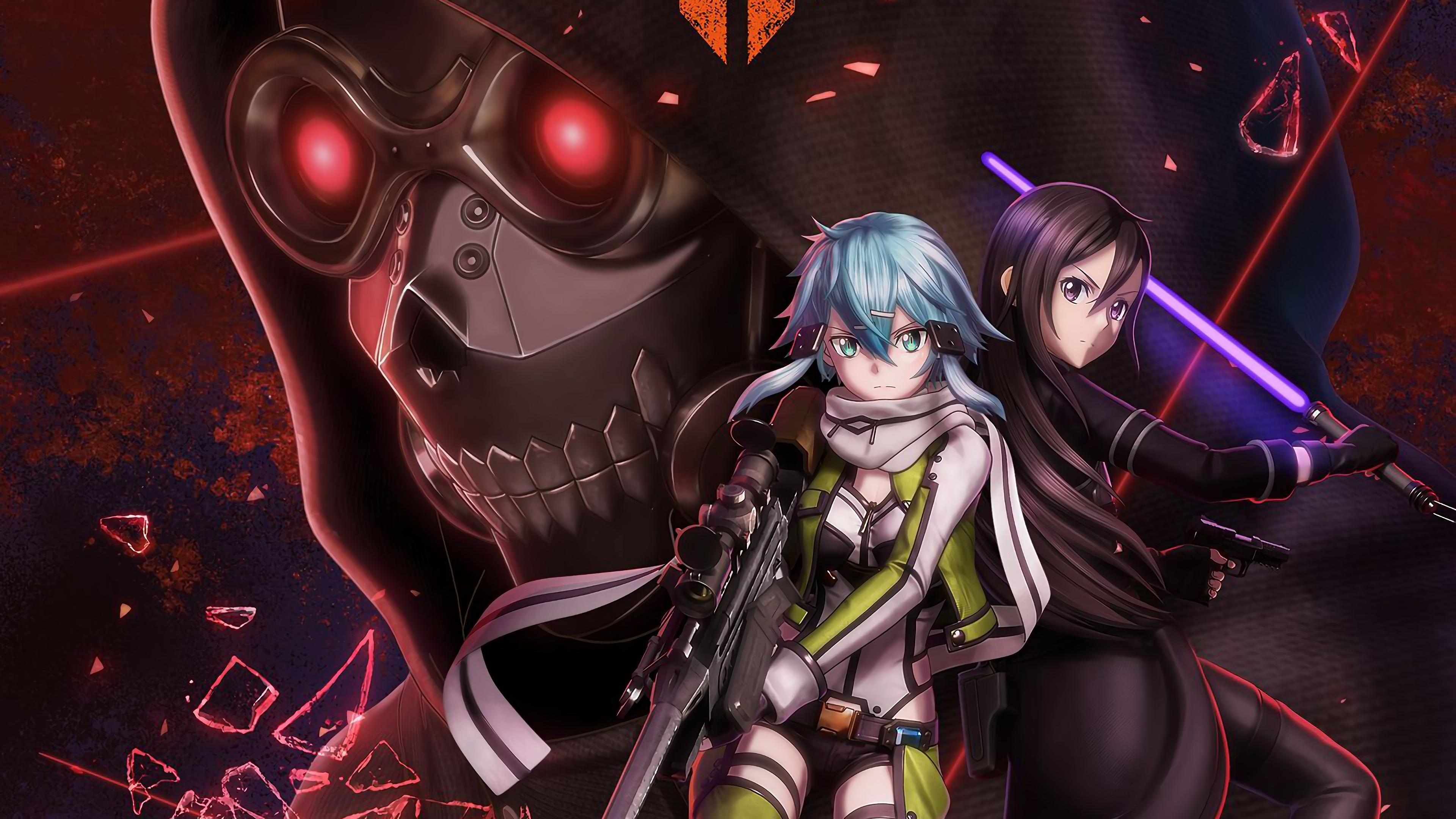 Sword Art Online Ii 4k Ultra Hd Wallpaper Hintergrund