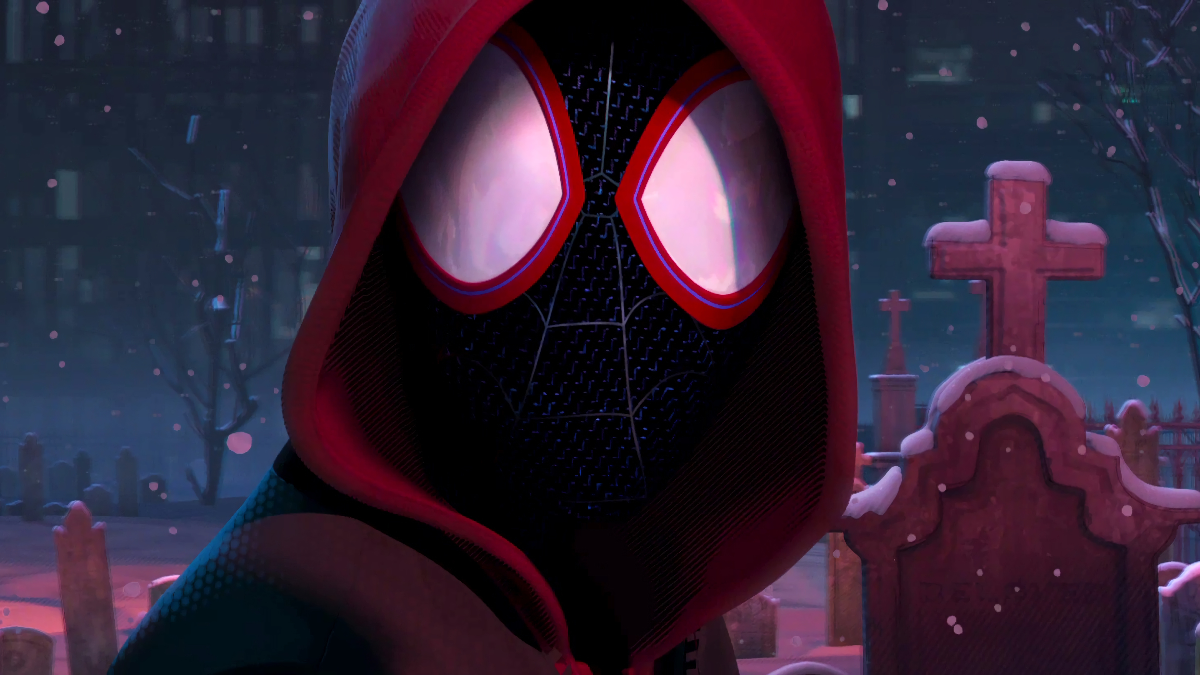 Spider Man Into The Spider Verse 4k Ultra Hd Wallpaper Background