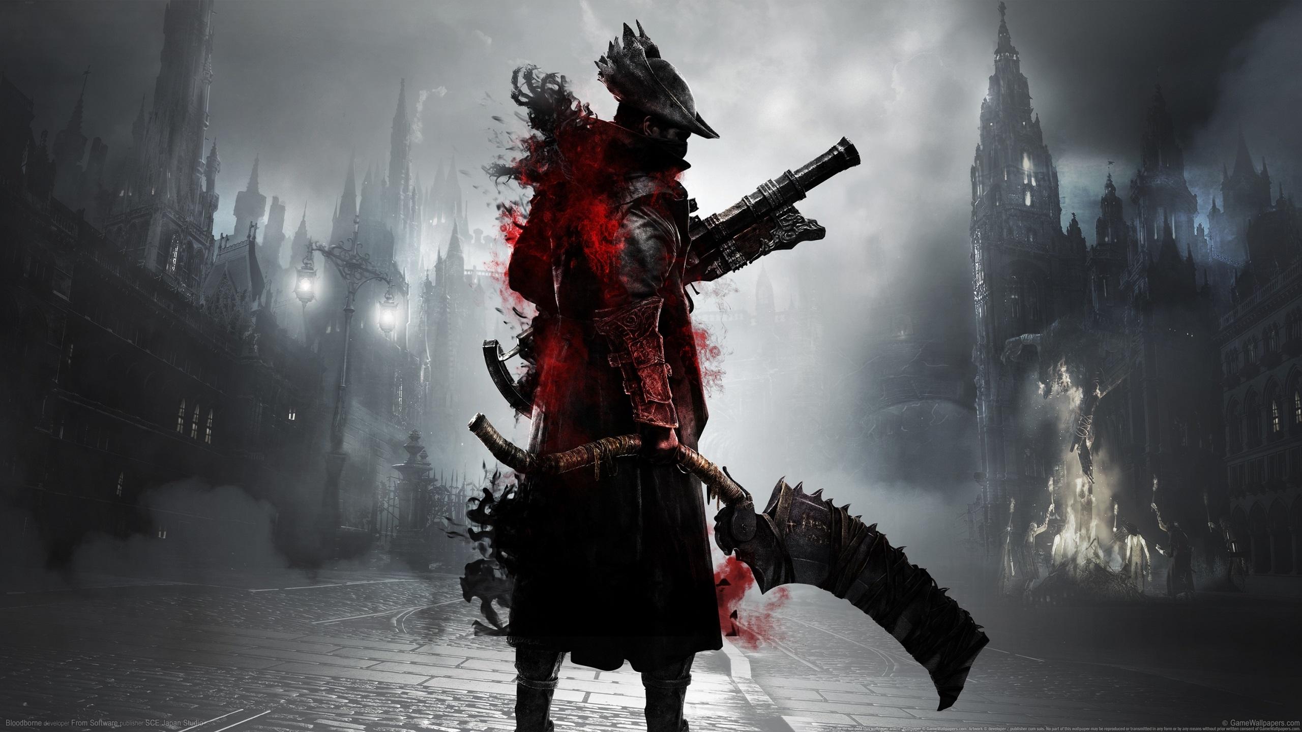 Bloodborne Fondo de pantalla HD | Fondo de Escritorio | 2560x1440 |  ID:934755 - Wallpaper Abyss