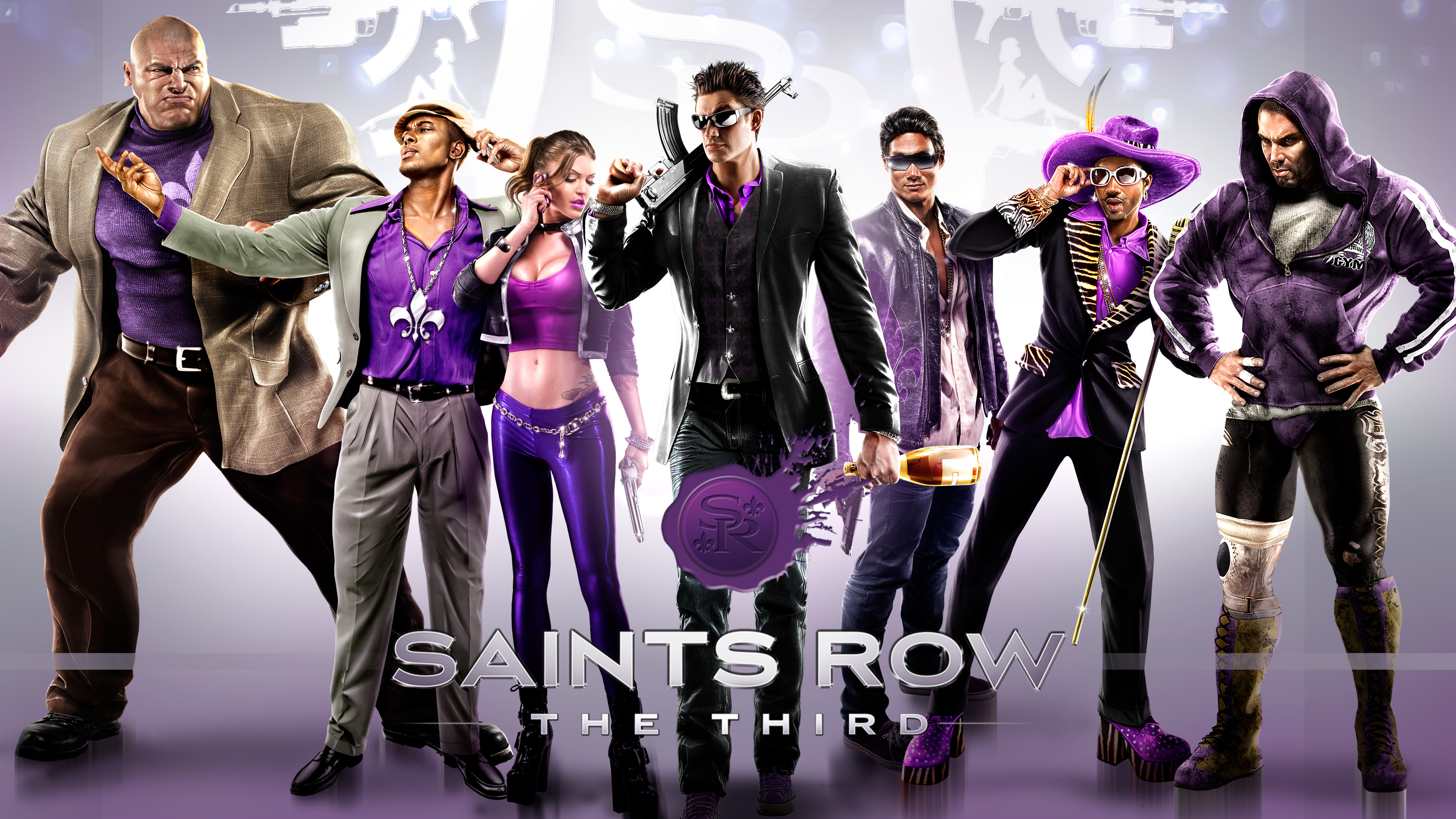 Saints Row The Third 4k Ultra Fondo De Pantalla Hd Fondo