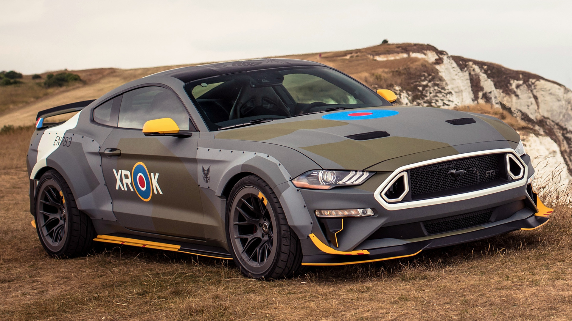2018 ford eagle squadron mustang gt hd wallpaper background image