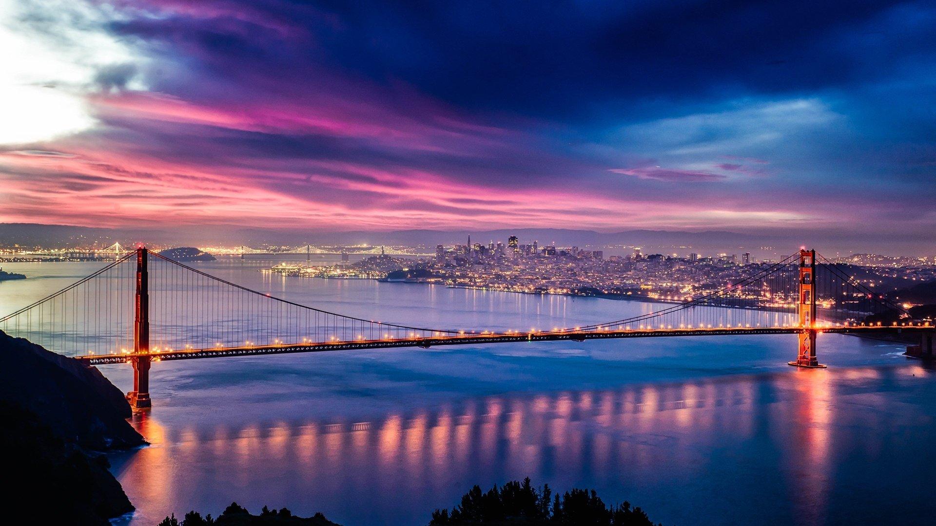 Golden Gate Fond D Ecran Hd Arriere Plan 1920x1080 Id