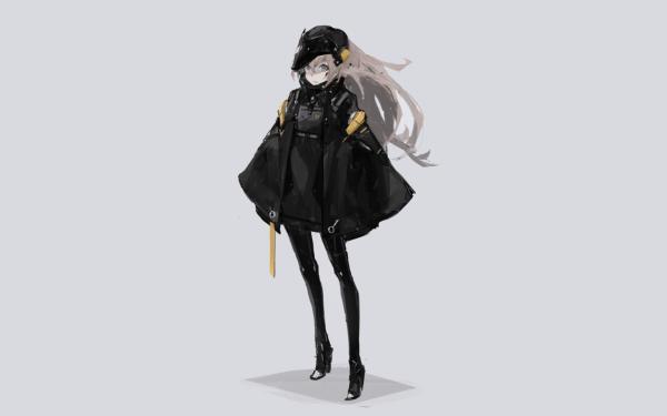 Anime Original White Hair HD Wallpaper   Background Image