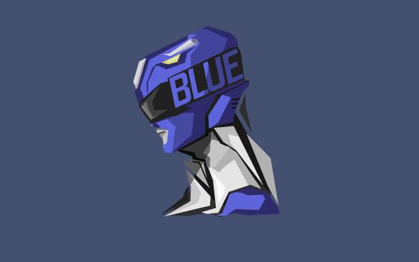 TV Show Power Rangers Blue Ranger HD Wallpaper | Background Image