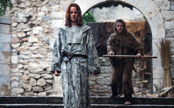 TV Show Game Of Thrones Arya Stark Jaqen H'ghar Maisie Williams Tom Wlaschiha HD Wallpaper | Background Image