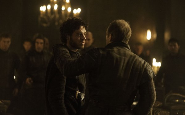 TV Show Game Of Thrones Robb Stark Roose Bolton Michael McElhatton Richard Madden HD Wallpaper   Background Image