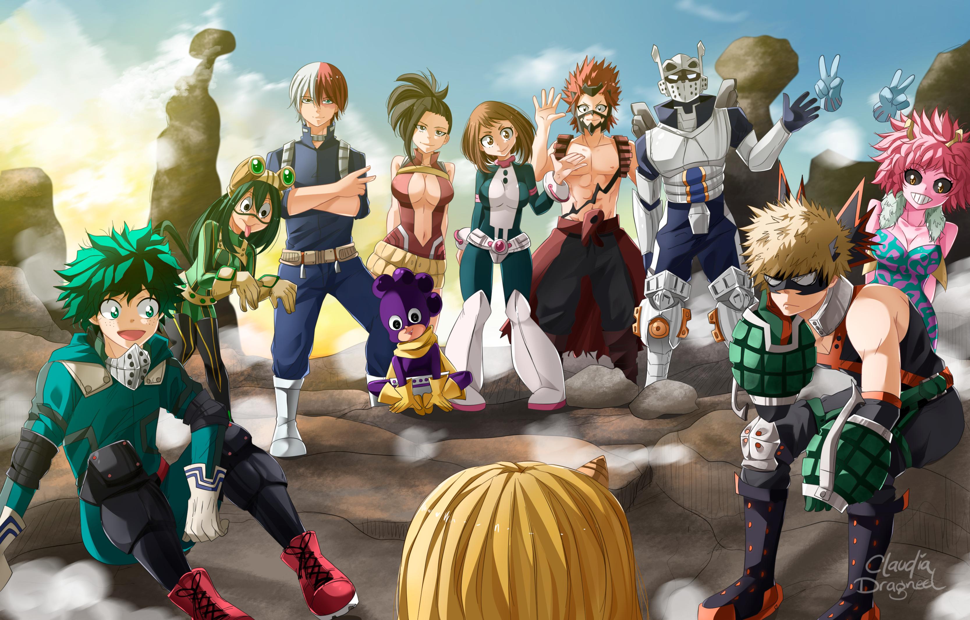 22 Eri (My Hero Academia) HD Wallpapers | Background ...