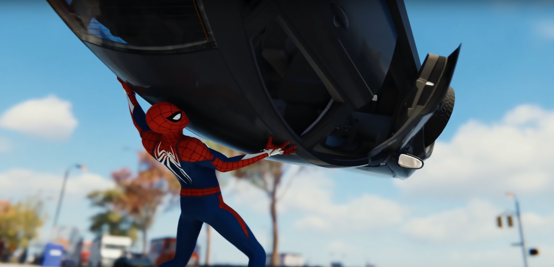 Spider-Man Ps4 Wallpaper Fond d'écran HD   Arrière-Plan   3788x1826   ID:939170 - Wallpaper Abyss