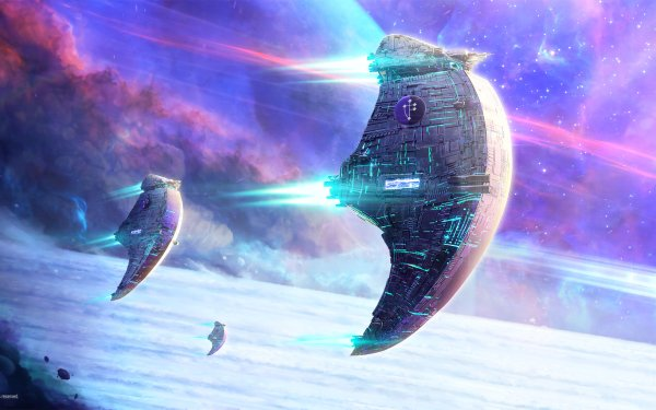 Sci Fi Spaceship HD Wallpaper | Background Image