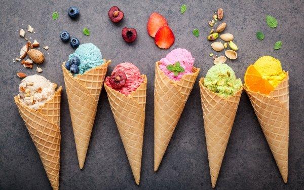 Food Ice Cream Still Life HD Wallpaper | Background Image