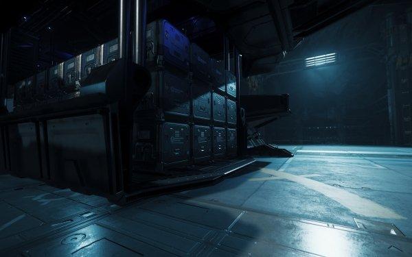 Video Game Star Citizen Levski Hangar HD Wallpaper | Background Image