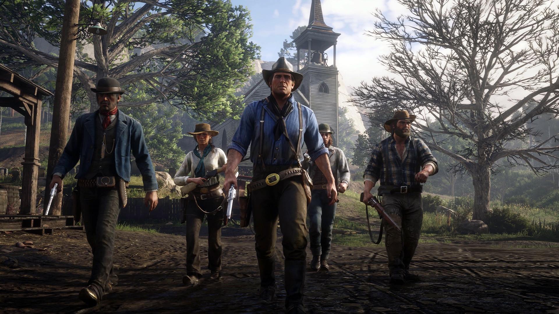 Red Dead Redemption 2 Dutch S Gang Hd Wallpaper Background