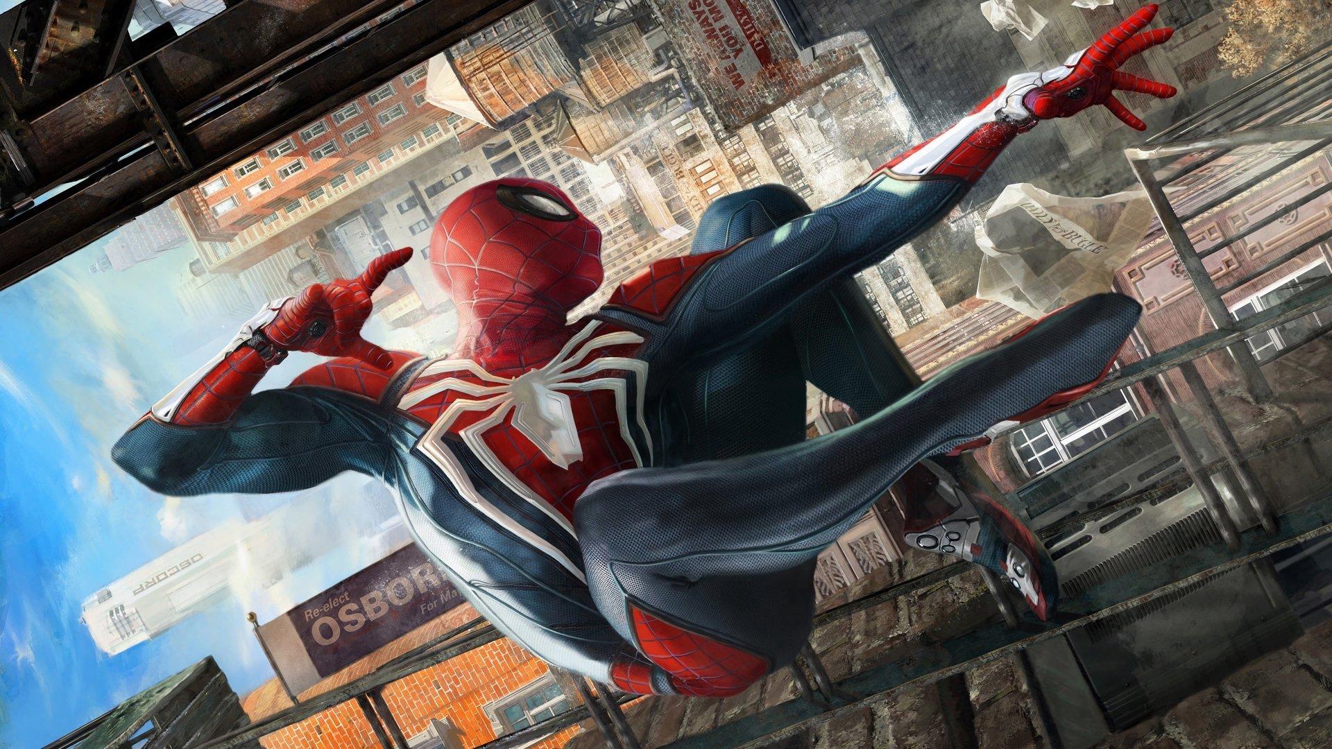 Spider man ps4 4k ultra hd wallpaper background image 3840x2160 id 941221 wallpaper abyss - Marvel hd wallpapers 4k ...