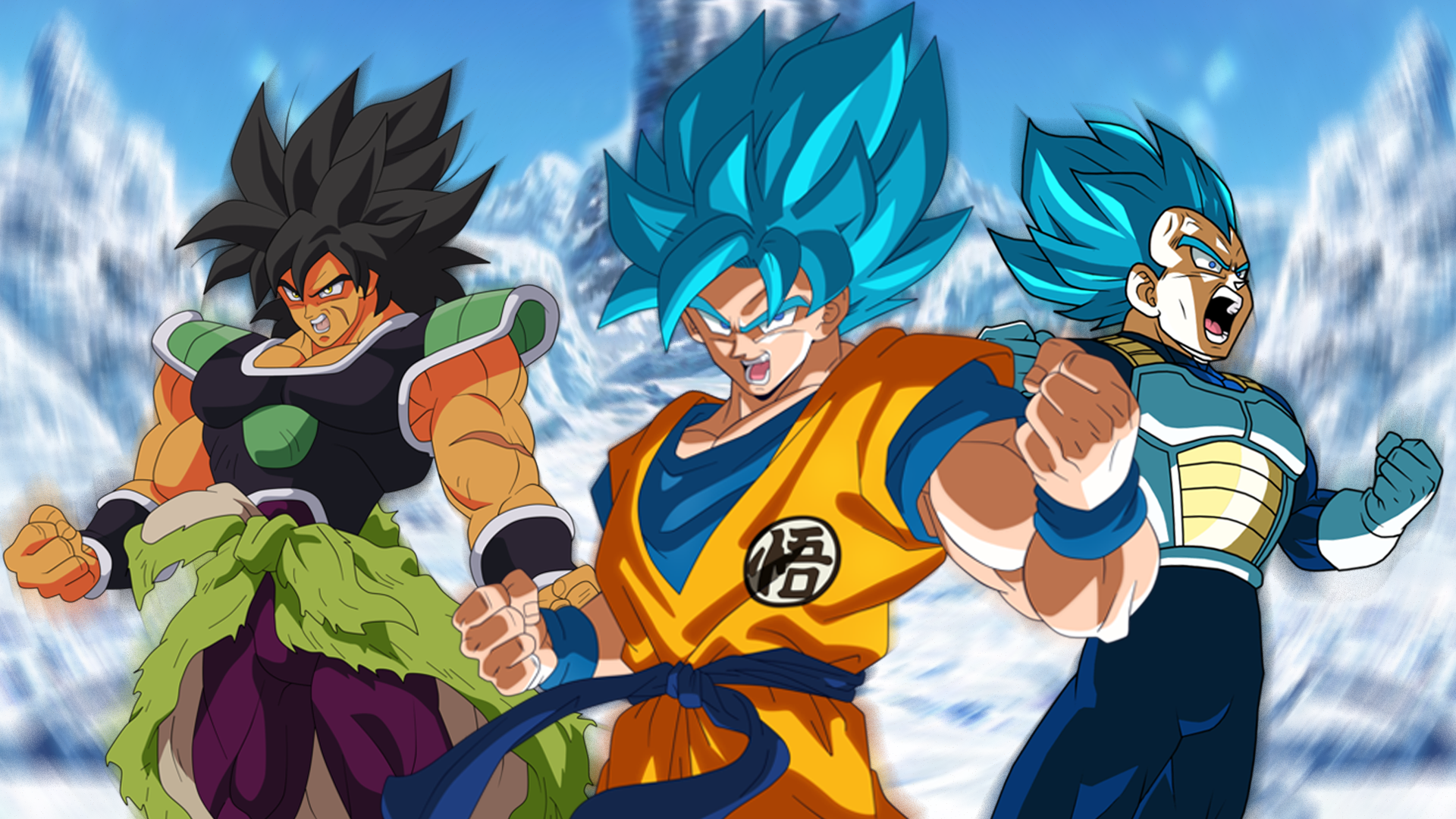 Dragon Ball Super Broly Hd Wallpaper Background Image