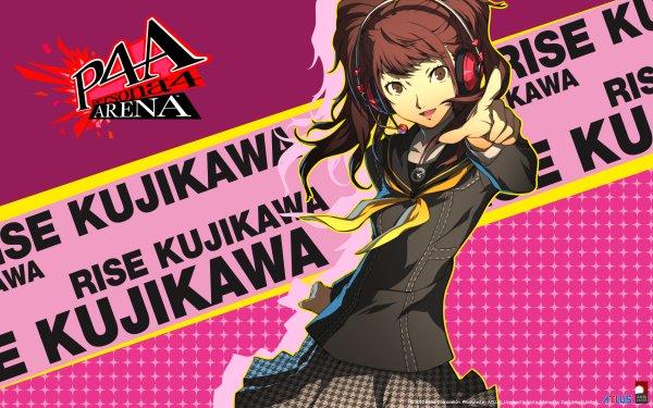Video Game Persona 4: Arena Persona Rise Kujikawa HD Wallpaper | Background Image