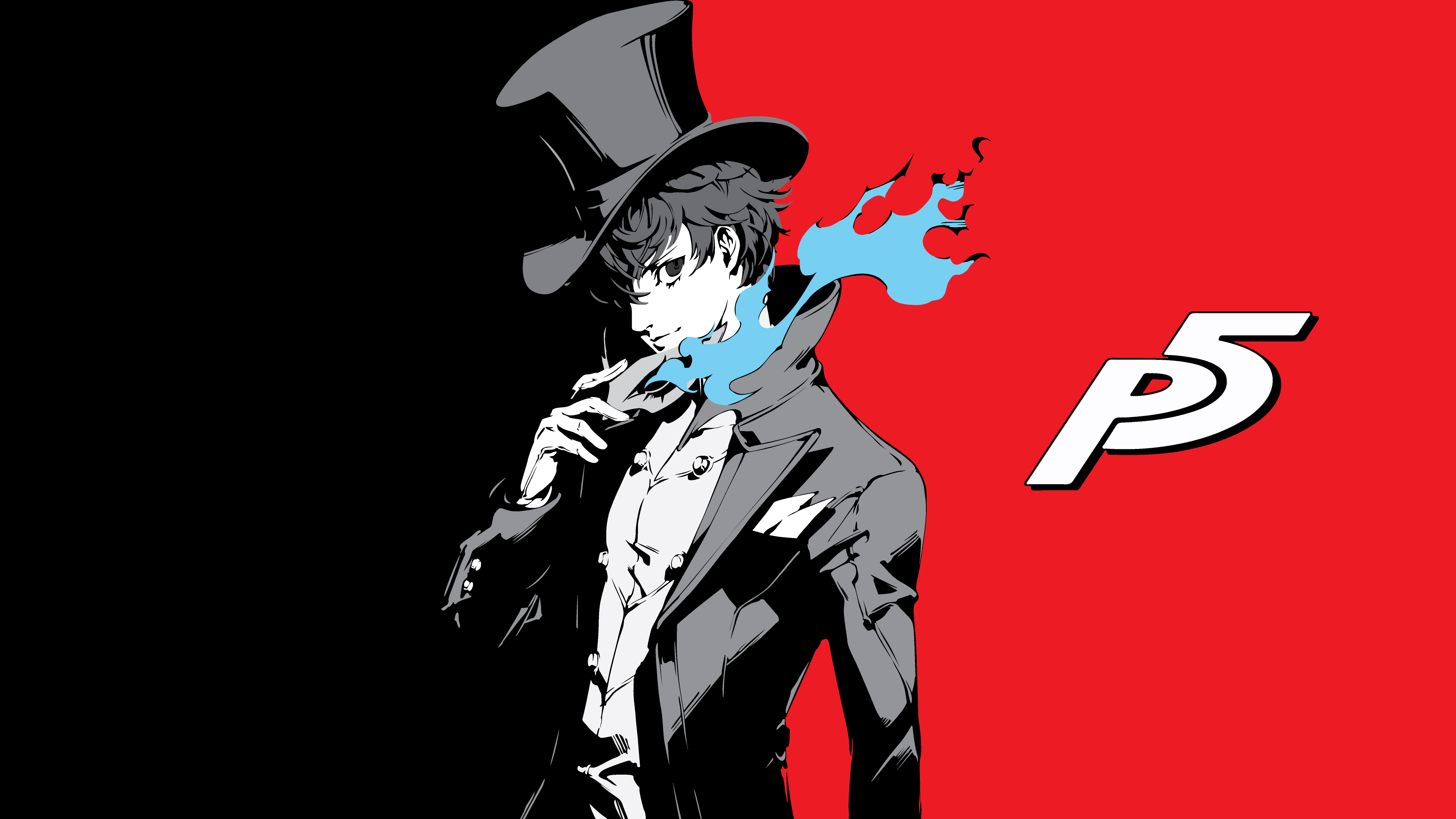 Persona 3 Wallpaper 4k: Persona 5 - Joker 4k Ultra HD Wallpaper