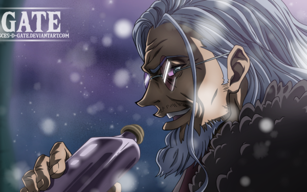 Anime One Piece Rayleigh Silvers HD Wallpaper   Background Image