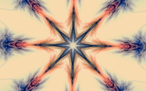 Abstract Artistic Kaleidoscope Pastel HD Wallpaper | Background Image