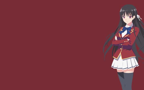 Anime Classroom of the Elite Suzune Horikita HD Wallpaper   Background Image