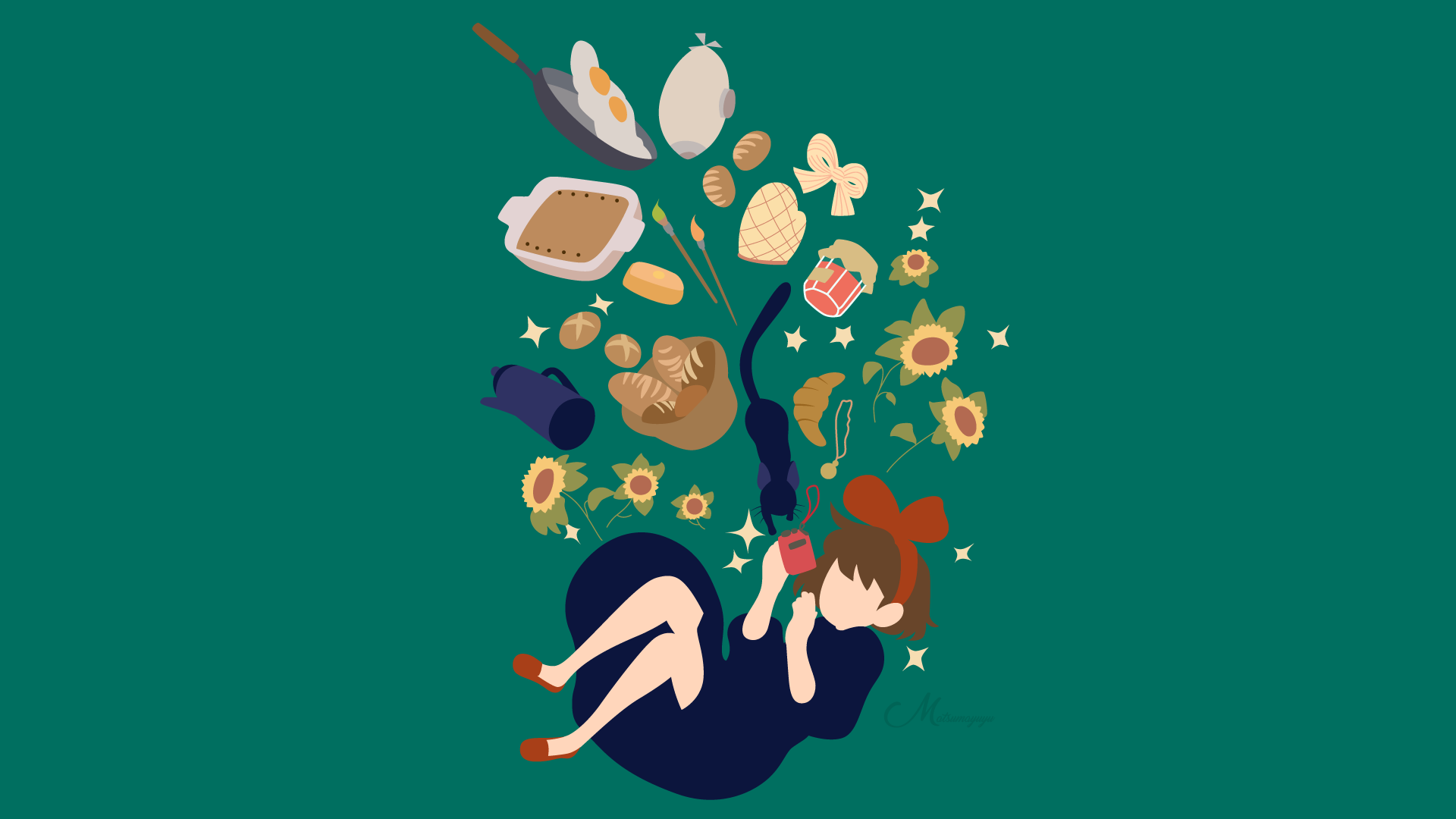 Kiki S Delivery Service Hd Wallpaper Background Image