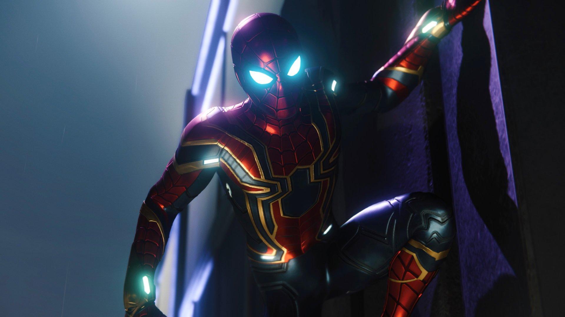 Iron Spider Fondo De Pantalla HD