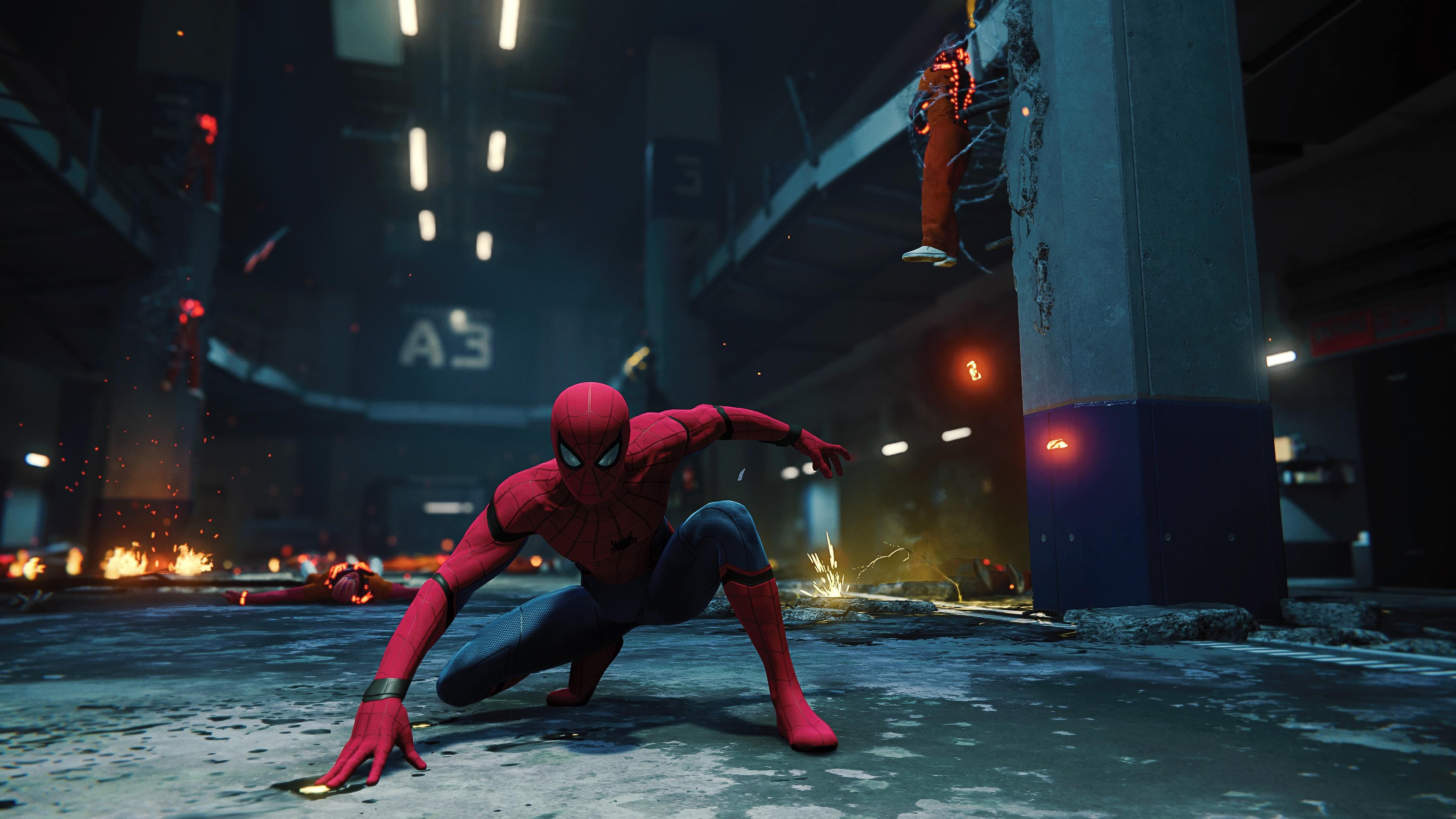 Spider-Man (PS4) 4k Ultra HD Wallpaper
