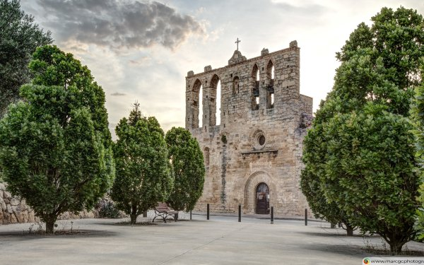 Religious Church Churches Sant Esteve Catalonia HD Wallpaper | Background Image