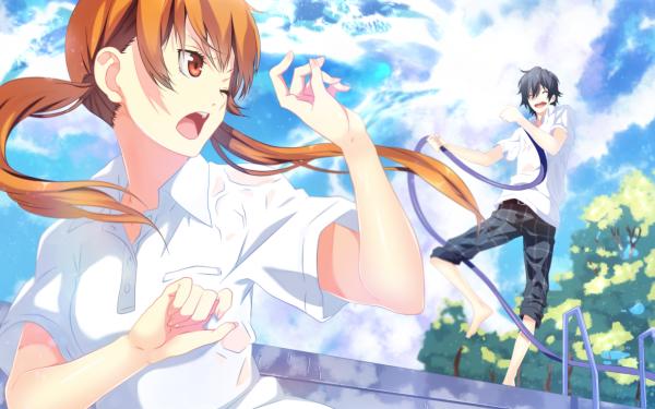 Anime My Little Monster Haru Yoshida Shizuku Mizutani HD Wallpaper   Background Image