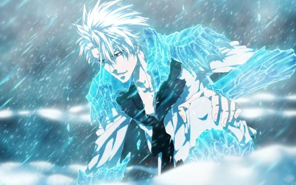 Anime Bleach Hyorinmaru Tōshirō Hitsugaya HD Wallpaper   Background Image
