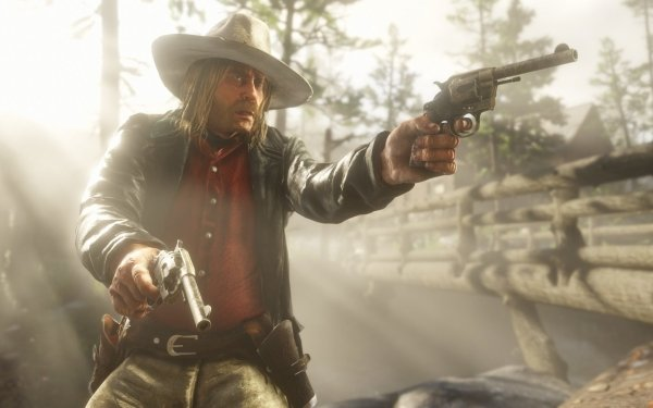 Video Game Red Dead Redemption 2 Red Dead Micah Bell HD Wallpaper | Background Image