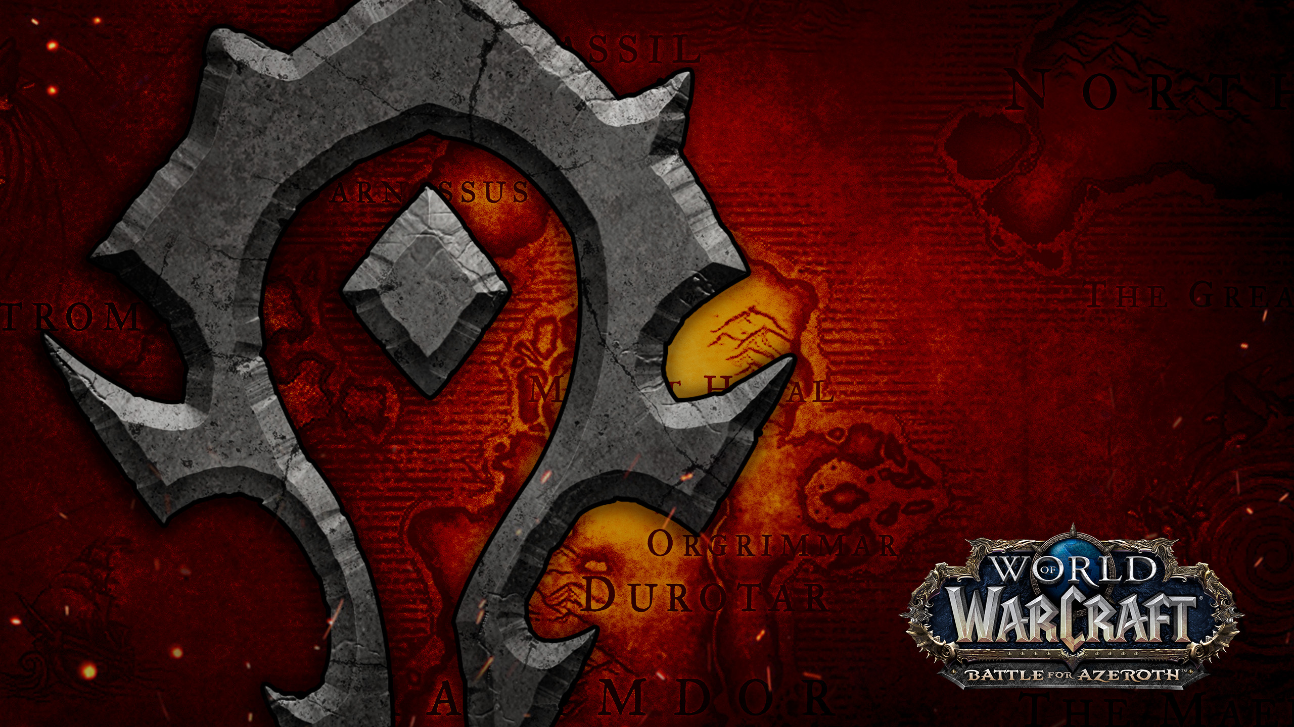 World Of Warcraft Horde Hd Wallpaper Background Image
