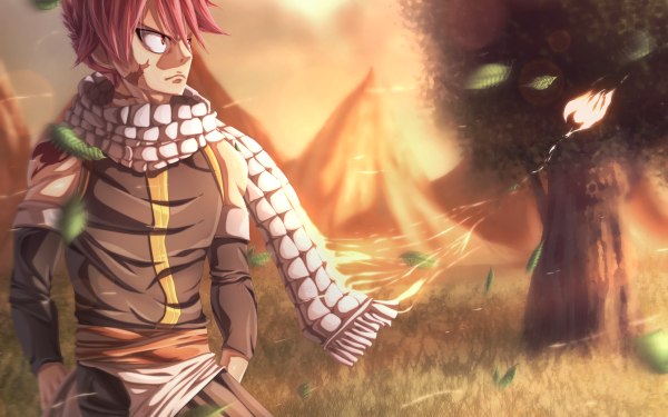 Anime Fairy Tail Natsu Dragneel HD Wallpaper | Background Image
