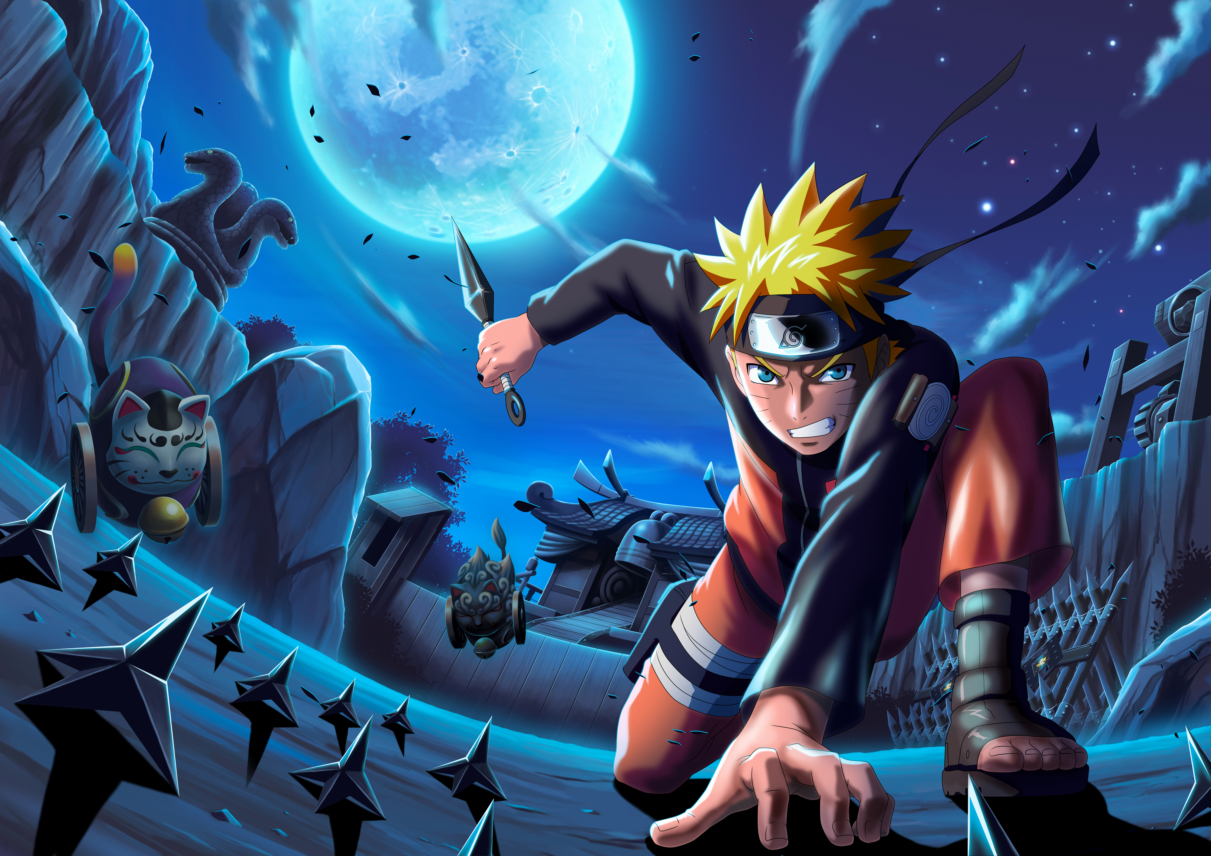 Naruto Uzumaki 4k Ultra Hd Wallpaper Background Image