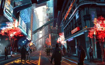 404 Cyberpunk Hd Wallpapers Background Images Wallpaper Abyss
