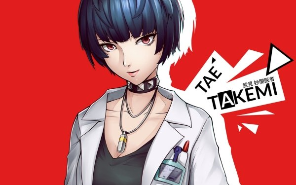 Anime Persona 5: The Animation Persona Tae Takemi HD Wallpaper   Background Image