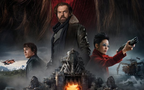Movie Mortal Engines Robert Sheehan Hugo Weaving HD Wallpaper   Background Image