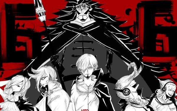 Anime One Piece Judge Vinsmoke Reiju Vinsmoke Ichiji Vinsmoke Niji Vinsmoke Yonji Vinsmoke Sanji HD Wallpaper | Background Image