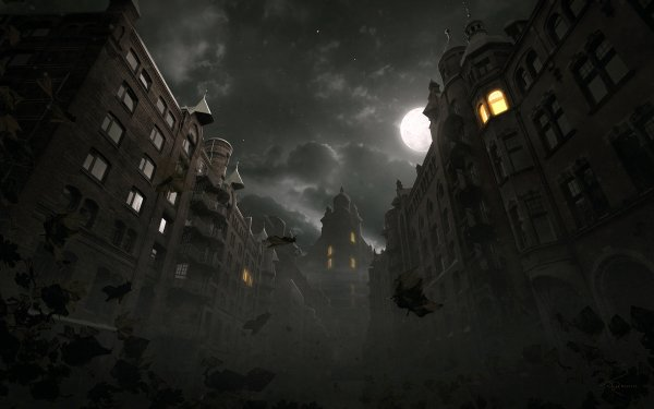 Dark Building Buildings HD Wallpaper | Background Image