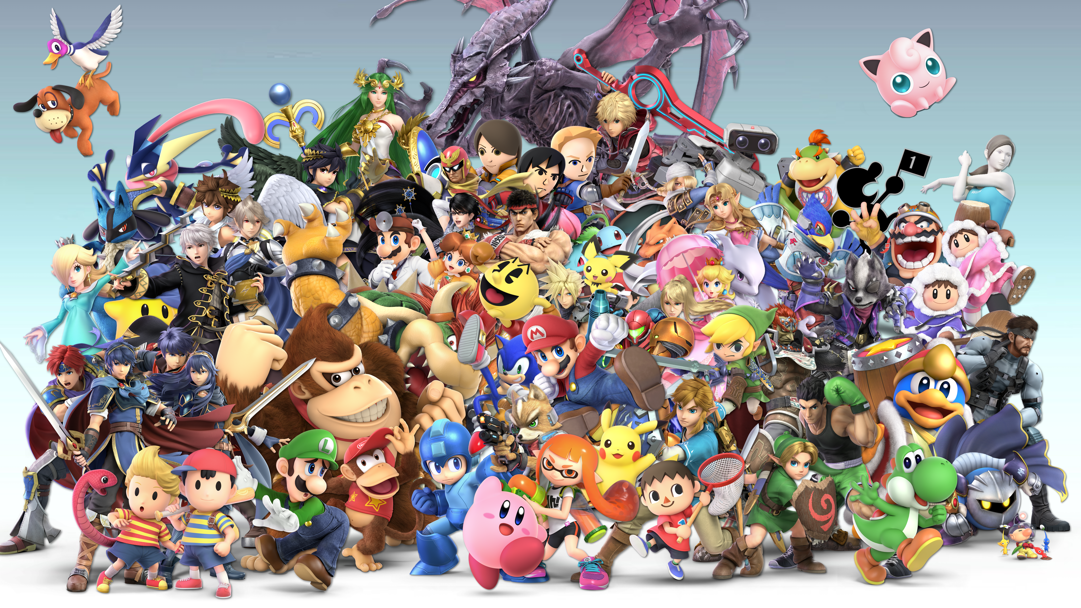 Super Smash Bros Ultimate 4k Ultra Hd Wallpaper Background