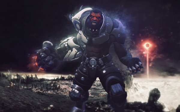 Videojuego Overwatch Doomfist Fondo de pantalla HD | Fondo de Escritorio