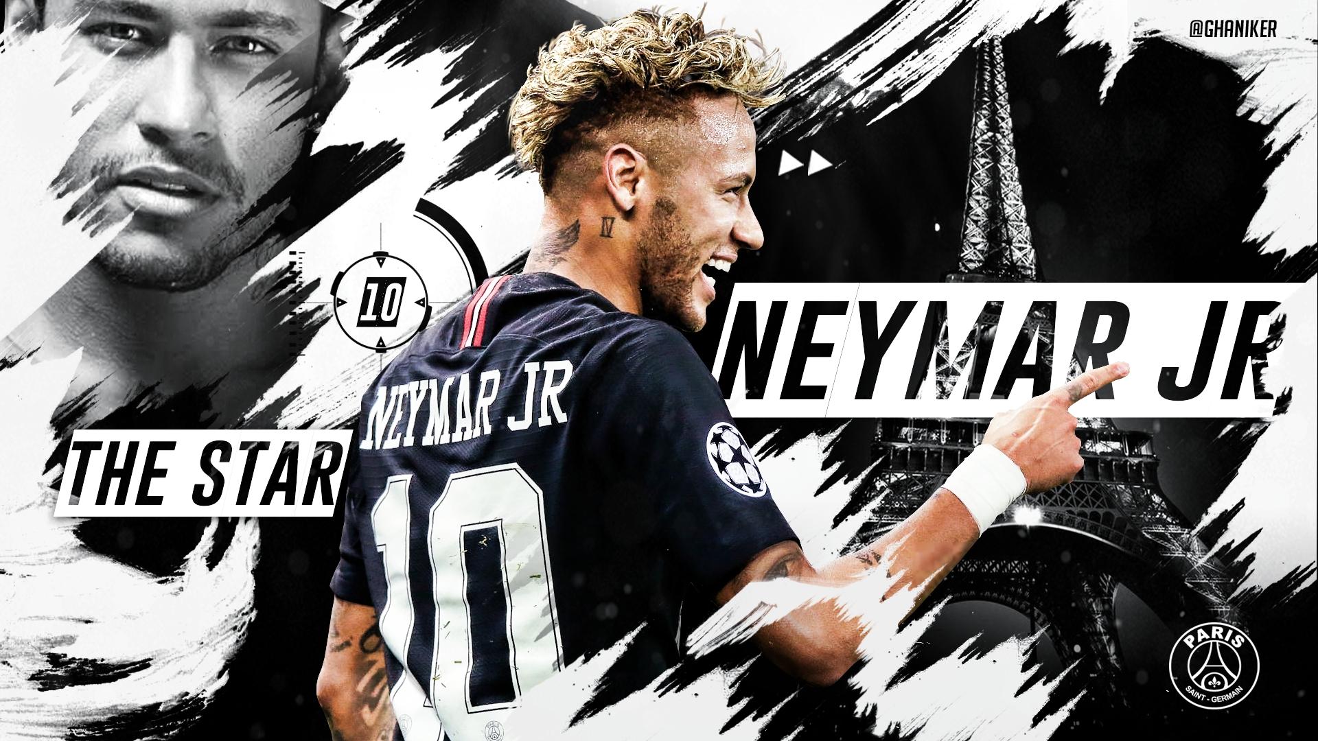 Neymar Jr - PSG HD Wallpaper | Background Image ...